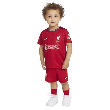 Nike Kids Liverpool 2021/22 Home Kit - Red
