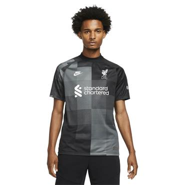Nike Liverpool Goalkeeper Jersey 21/22 - BLACK