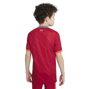 Nike Kids Liverpool 2021/22 Home Jersey - Red