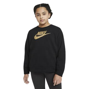 Nike Girls Sweatshirt - BLACK