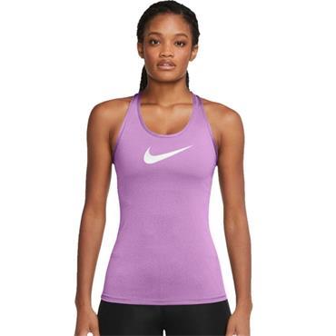 Nike Womens Running Swoosh Tank Top - Purple