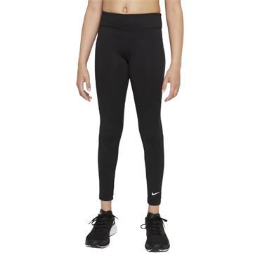 Nike Girls Dri-FIT One Leggings - BLACK