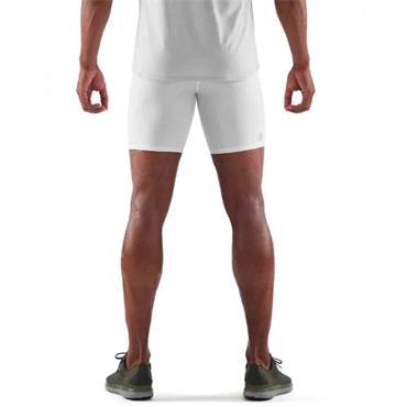 Skins Dnamix Force Mens Half Tight - WHITE