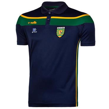 O'Neills Adults Donegal GAA Auckland Polo - Navy