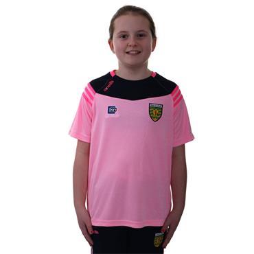 O'Neills Girls Donegal GAA Colorado 01 T-Shirt - Pink