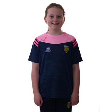 O'Neills Girls Donegal GAA Colorado 01 T-Shirt - Marine