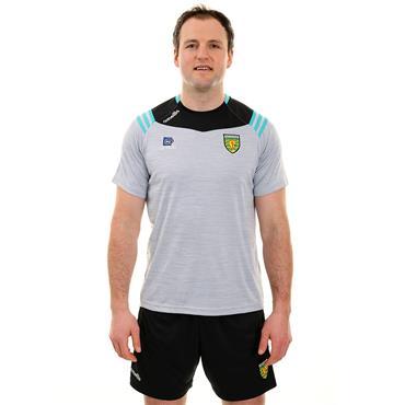 O'Neills Adults Donegal GAA Colorado 01 T-Shirt - Silver