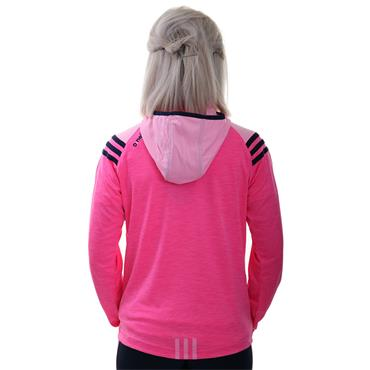 WOMENS DONEGAL COLORADO 105 HZ HOODIE - PINK/MARINE/COTTON CANDY