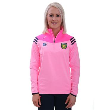 O'Neills Womens Donegal GAA Colorado 122 Brushed Half Zip - Pink