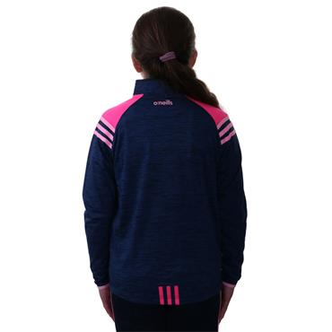 O'Neills Girls Donegal GAA Colorado 122 Brushed Half Zip - Marine