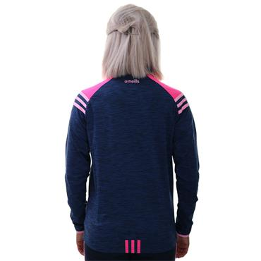 O'Neills Womens Donegal GAA Colorado 122 Brushed Half Zip - Marine