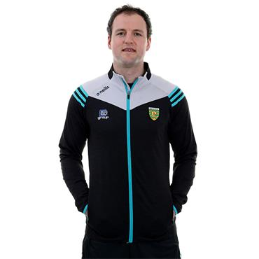 O'Neills Adults Donegal GAA Colorado 26 Brushed Full Zip - Black