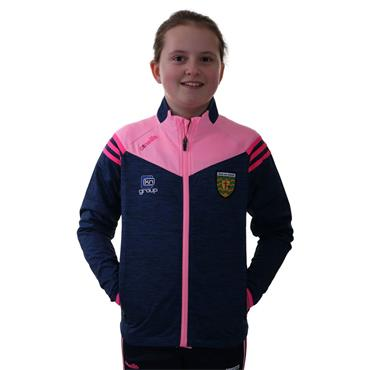 O'Neills Girls Donegal GAA Colorado 26 Brushed Full Zip - Marine