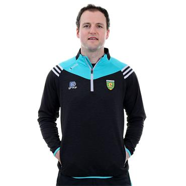 O'Neills Adults Donegal GAA Colorado 30 Half Zip - Black
