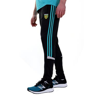 ADULTS DONEGAL COLORADO 36 SKINNY PANT - BLACK/TEAL/SILVER
