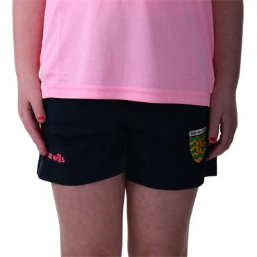 O'Neills Girls Donegal GAA Colorado 49 Shorts - Marine