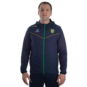 ADULTS DONEGAL HOLLAND 72 FLEECE JACKET - MARINE/EMERALD/AMBER