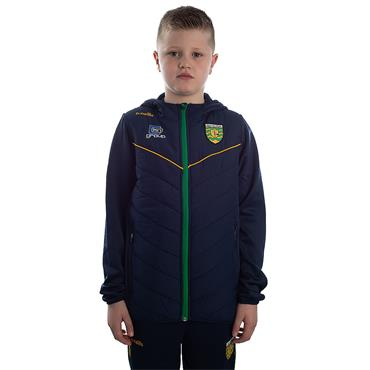 KIDS DONEGAL HOLLAND 72 FLEECE JACKET - MARINE/EMERALD/AMBER