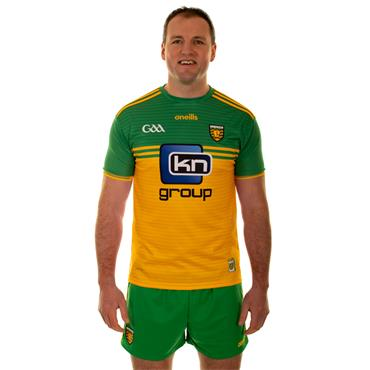 O'Neills Adults Donegal GAA Tight Fit Home Jersey 19/20 - Yellow/Green