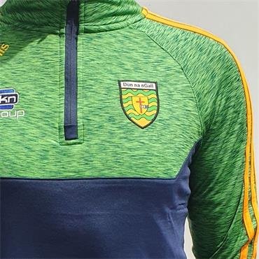 O'Neills Adults Donegal GAA Kasey Half Zip - Green