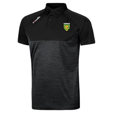 ONEILLS ADULTS DONEGAL GAA KASEY POLO - BLACK