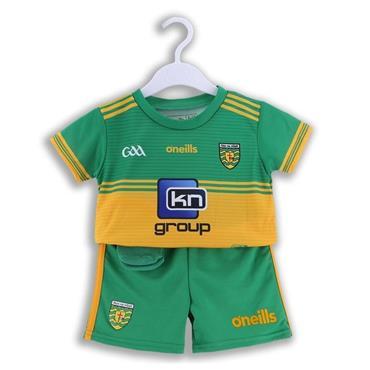 O'Neills Kids Donegal GAA Kit 2019/20 - Green/Yellow
