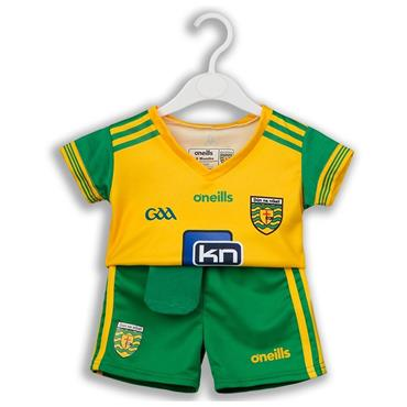 O'Neills Donegal GAA Kids Kit 2018 - Green/Yellow