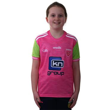 KIDS DONEGAL GAA JERSEY 2018 - PINK/GREEN