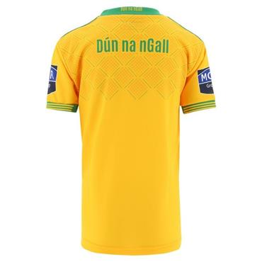 O'Neills Kids Donegal GAA LGFA Home Jersey - Yellow