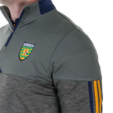 O'Neills Adults Donegal GAA Nevis 122 Brushed Half Zip - Green