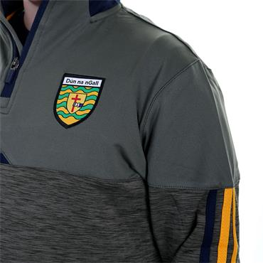 O'Neills Kids Donegal GA Nevis 122 Brushed 122 Half Zip - Green