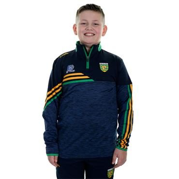 O'Neills Kids Donegal GAA Nevis 122 Brushed Half Zip - Navy