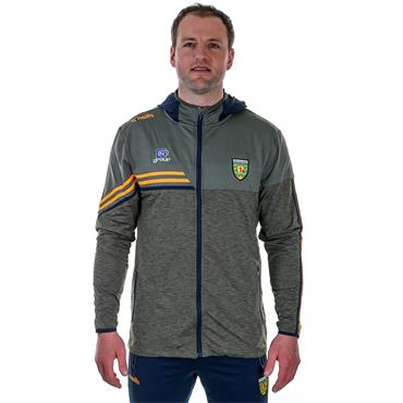 O'Neills Adults Donegal GAA Nevis 21 Full Zip Hoodie - Green