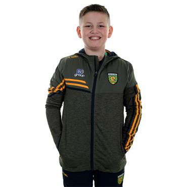 O'Neills Kids Donegal GAA Nevis 21 Full Zip Hoodie - Green