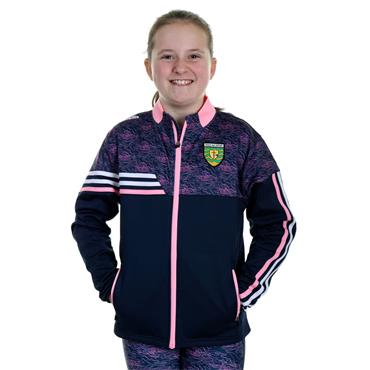 O'Neills Girls Donegal GAA Nevis 26 Full Zip Jacket - Navy