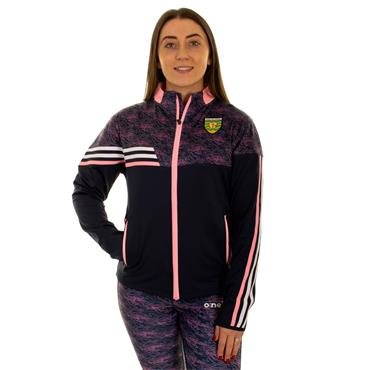 O'Neills Womens Donegal GAA Nevis 26 Full Zip Jacket - Navy