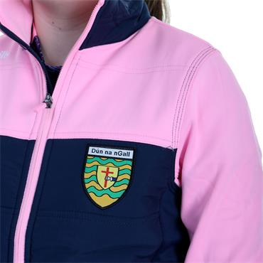 O'Neills Girls Donegal GAA Nevis 71 Jacket - Pink