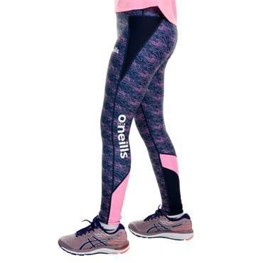 O'Neills Girls Donegal GAA Nevis 40 Leggings - Navy