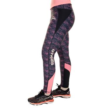 O'Neills Womens Donegal GAA Nevis 40 Leggings - Navy