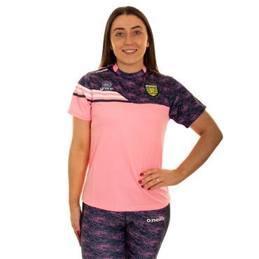 O'Neills Womens Donegal GAA Nevis 01 T-Shirt - Pink