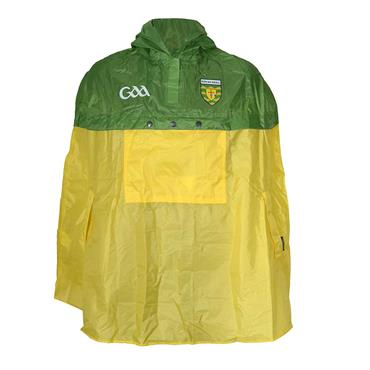 Donegal GAA Waterproof Poncho - Yellow