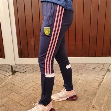 O'Neills Girls Donegal GAA Portland 153 Skinny Pants - NAVY/PINK
