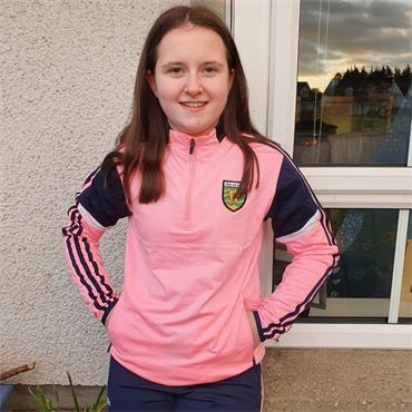 O'Neills Girls Donegal GAA Portland 184 Half Zip - Pink