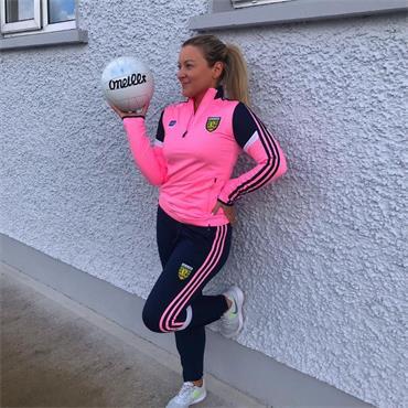O'Neills Womens Donegal GAA Portland 184 Half Zip - Pink