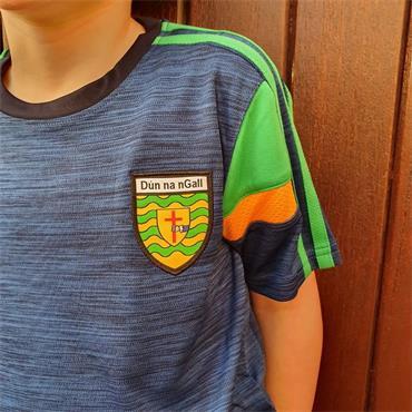 O'Neills Kids Donegal GAA Portland 060 T-Shirt - Navy