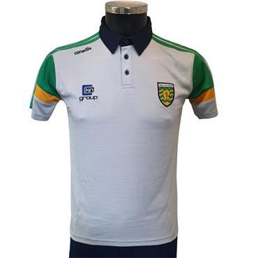 O'Neills Adults Donegal GAA Portland Polo Shirt - Grey