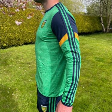 O'Neills Adults Donegal GAA Portland 183 Crew Sweater - Green