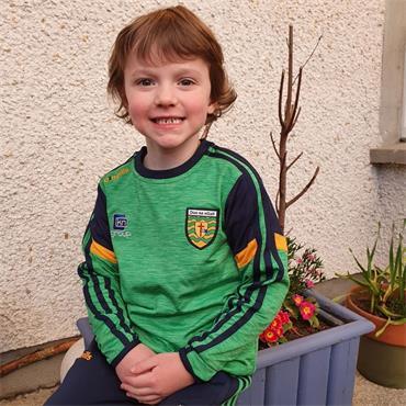O'Neills Kids Donegal GAA Portland 183 Crew Sweater - Green