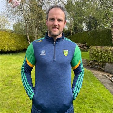 O'Neills Adults Donegal GAA Portland 184 Brushed Half Zip - Navy