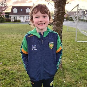 O'Neills Kids Donegal GAA Portland 21 Brushed Hoody - Navy